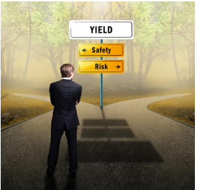 The cross road between yield safety and risk