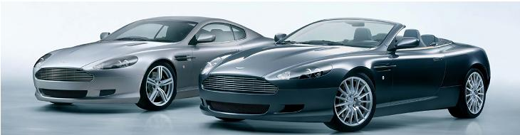 Stock brokers drive Aston Martins