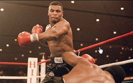 everyone has a plan until they get hit in the face by Mike Tyson