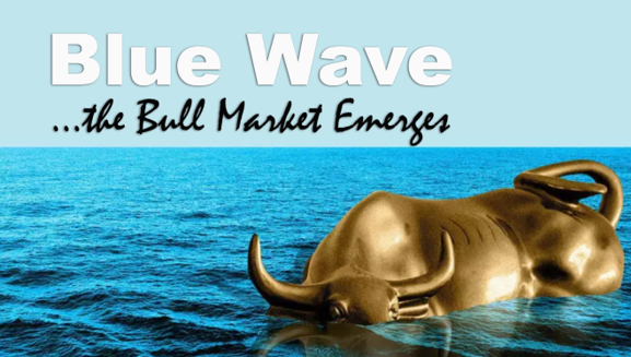 don't be short the blue wave