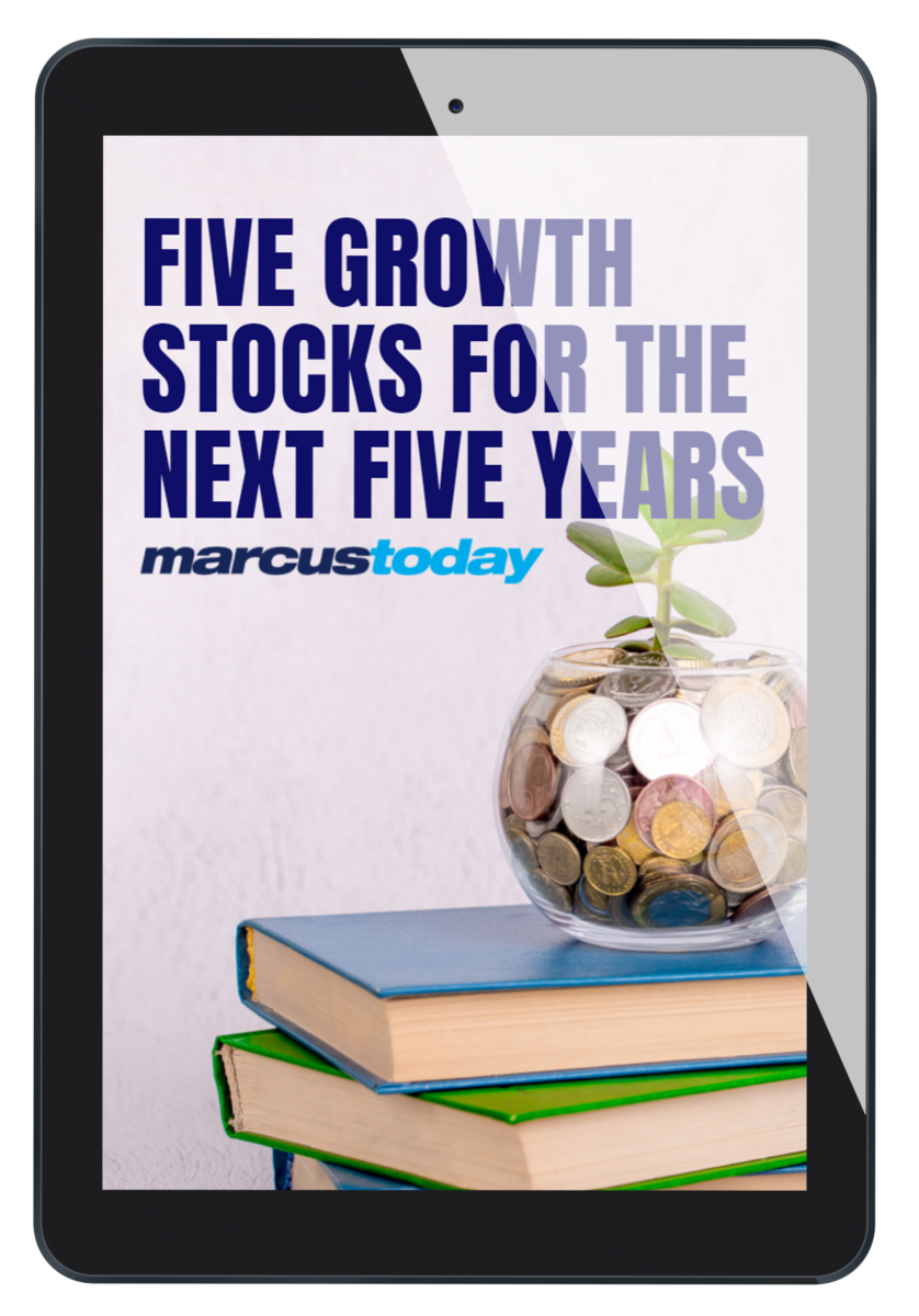 Five Growth Stocks for the Next Five Years.