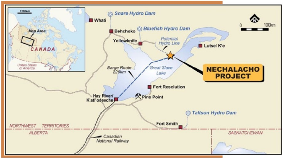Vital Metals (ASX: VML) Nechalacho Project Map